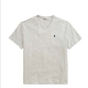 Classic fit v-neck polo